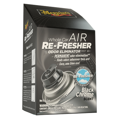 MEGUIARS - Air Re-Fresher Koku Giderici (Black Chrome)