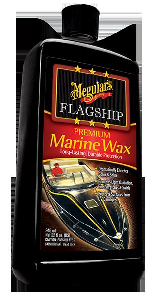Flagship Premium Marine Wax Boya Koruyucu Sıvı Wax 946 ML.