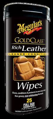 MEGUIARS - Gold Class Deri Yüzey Temizleme Mendili