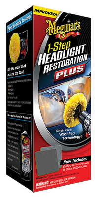 MEGUIARS - Headlight Restoration Plus Far Bakım Seti