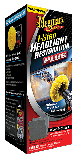 Headlight Restoration Plus Far Bakım Seti