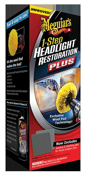 Headlight Restoration Plus Far Bakım Seti