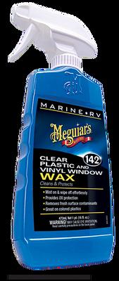 - Marine / Rv Clear Plastic & Vinyl Saydam Plastik & Vinil Cam Koruyucu Wax 473 ML.
