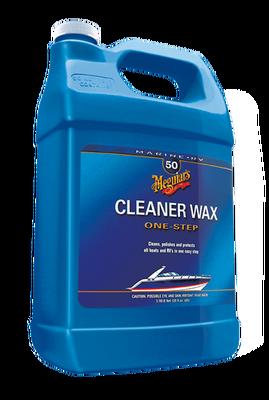 - Marine / Rv One Step Cleaner Wax Tek Adım Temizleyici Ve Koruyucu Sıvı Wax 3,78 Lt.
