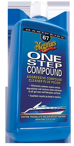 Marine / Rv One Step Compound Tek Adım Pasta 946 ML.