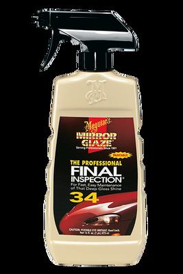 - Mirror Glaze® Fınal Inspectıon Yüzey Temizleme Sıvısı 473 ML.