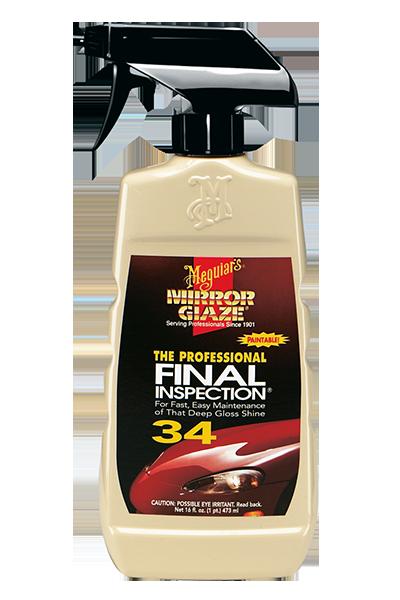 Mirror Glaze® Fınal Inspectıon Yüzey Temizleme Sıvısı 473 ML.