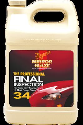 - Mirror Glaze® Fınal Inspectıon Yüzey Temizleme Sıvısı 3,79 Lt.