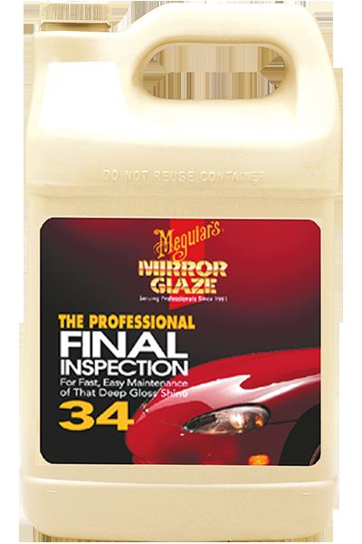 Mirror Glaze® Fınal Inspectıon Yüzey Temizleme Sıvısı 3,79 Lt.