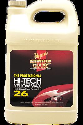 - Mirror Glaze® İleri Teknoloji Sarı Boya Koruyucu Wax 3,78 Lt.