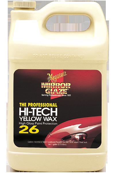 Mirror Glaze® İleri Teknoloji Sarı Boya Koruyucu Wax 3,78 Lt.