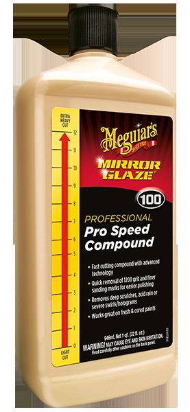 Mirror Glaze® Pro Speed Compound Çizik Çıkarıcı Pasta 946 ML.