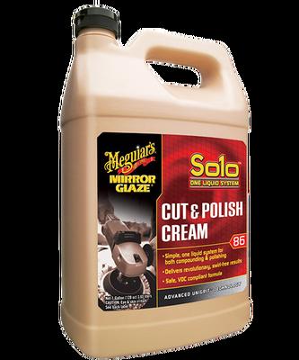 - Mirror Glaze® Solo™ Cut & Polish Cream Hızlı Pasta & Cila Kremi 3,79 Lt.