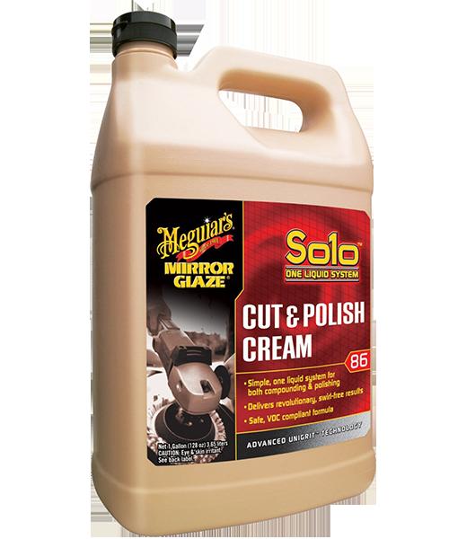 Mirror Glaze® Solo™ Cut & Polish Cream Hızlı Pasta & Cila Kremi 3,79 Lt.
