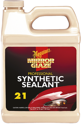 - Mirror Glaze® Synthetic Sealant 2.0 Su Tutmayan Koruyucu Wax 1,89 Lt.