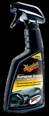 MEGUIARS - Supreme Shine Plastik, Vinil ve Torpido Temizleyici & Koruyucu