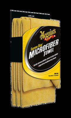 MEGUIARS - Supreme Shine Mikrofiber Silme Bezi (3 Adet)