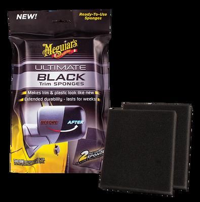 MEGUIARS - Ultimate Black Plastik ve Trim Temizleyici Sünger