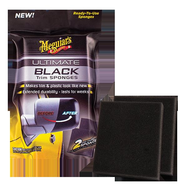 Ultimate Black Plastik ve Trim Temizleyici Sünger