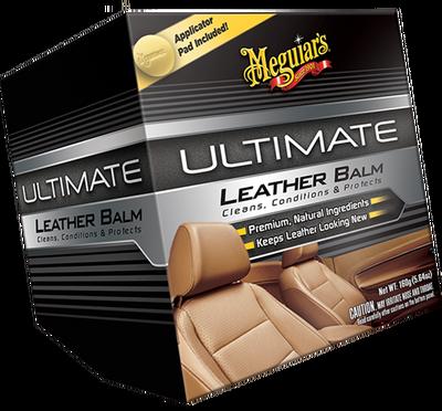 MEGUIARS - Ultimate Leather Balm Deri Temizleyici & Koruyucu Krem