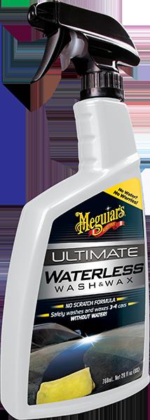 Ultimate Waterless Wash & Wax Susuz Oto Yıkama & Cila